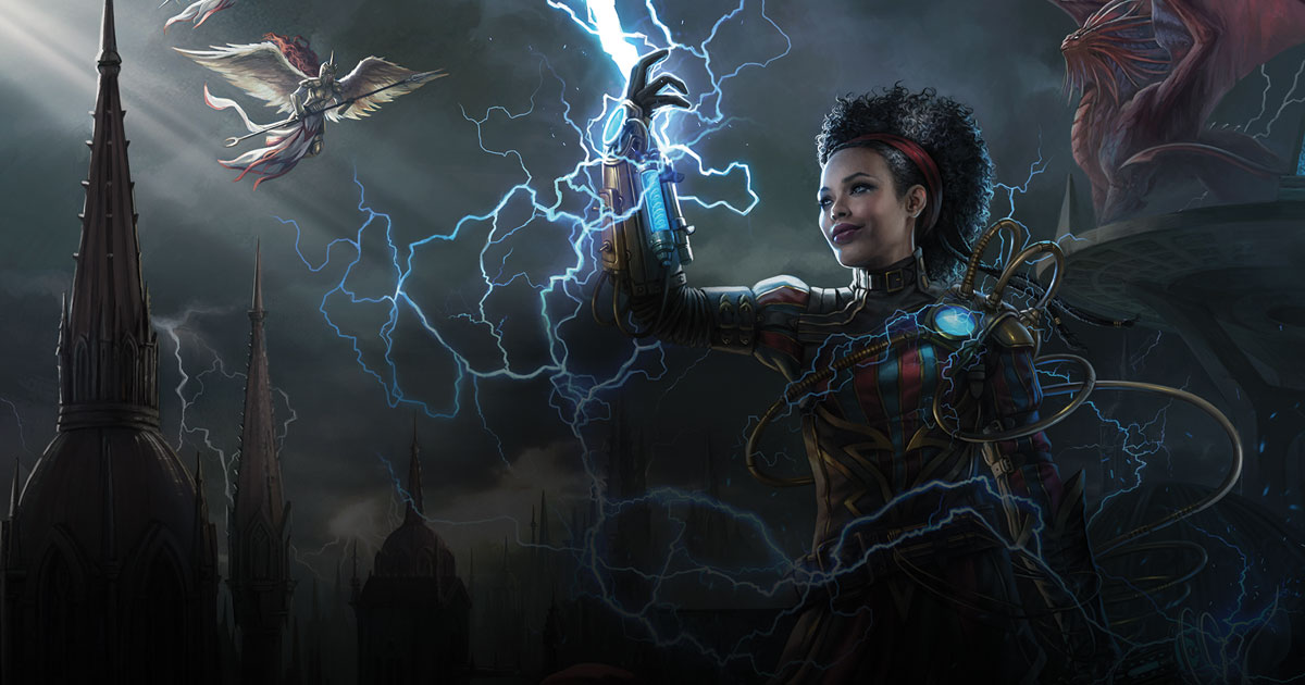 Illustrazione per Ravnica di Magali Villeneuve © Wizards of the Coast